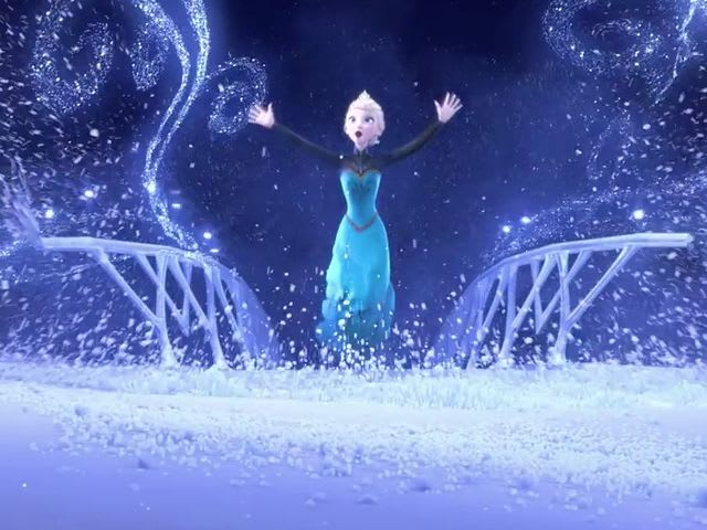 Idina Menzel Let It Go: My power flurries through the air into the ...