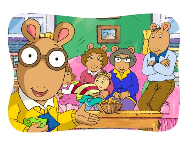 what kind of animal is arthur on pbs