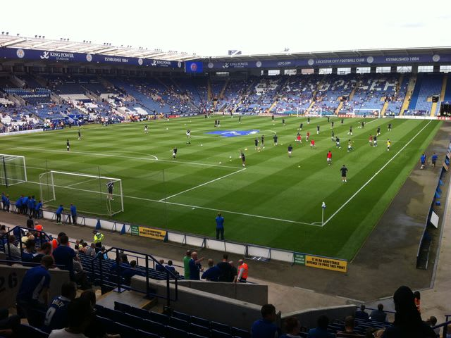 Leicester city stadium wedding