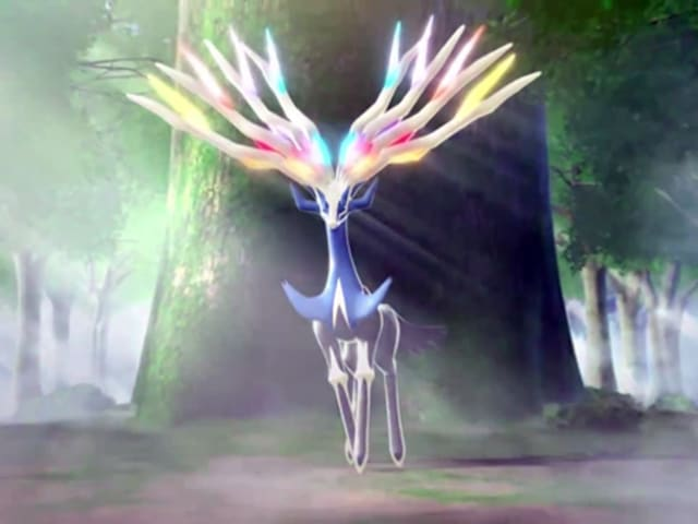 Xerneas is all-fairy all the time!