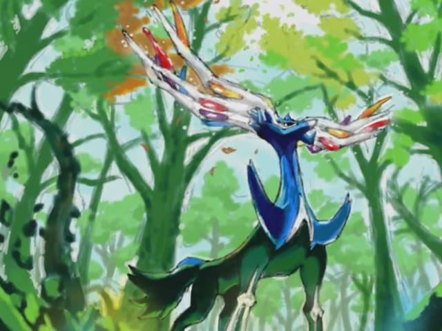 What type of Pokemon is Xerneas?