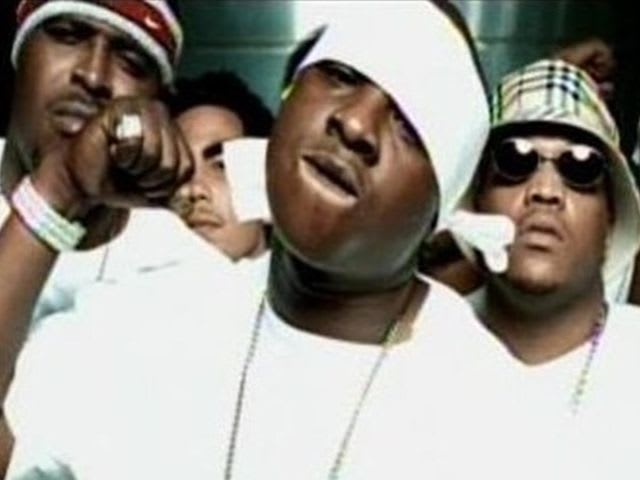 That NBA rhyme was from 'Put Ya Hands Up' on Jadakiss's debut album 'Kiss The Game Goodbye'