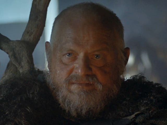 Craster is the horrifyingly creepy dude north of the Wall who keeps marrying his daughters.