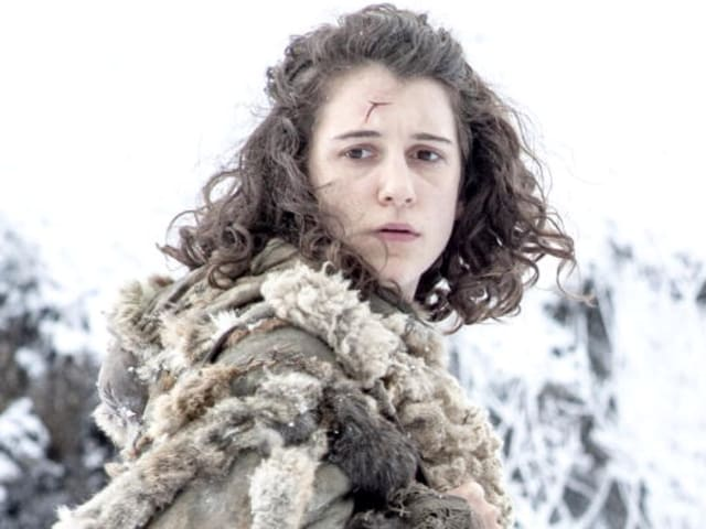 This is Meera Reed. She wanders around with Bran Stark for a really long time until shit finally gets weird.