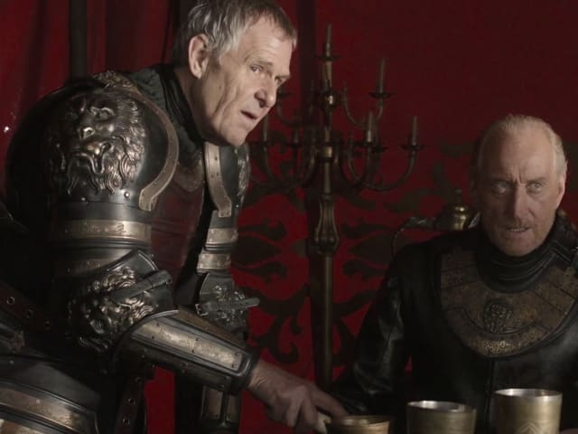 Apparently Kevan did more in the books, but he's Tywin Lannister's brother and shows up occasionally to do stuff.
