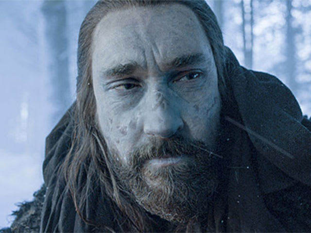 This is Benjen Stark, Ned Stark's brother and helpful snow zombie?
