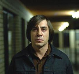 "Anton Chigurh, from ""No Country for Old Men"""