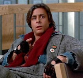 "John Bender, from ""The Breakfast Club"""