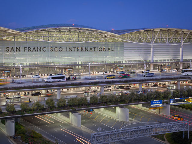 Which is the correct airport code for San Francisco?