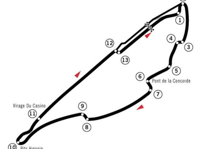 can you guess the formula 1 circuit