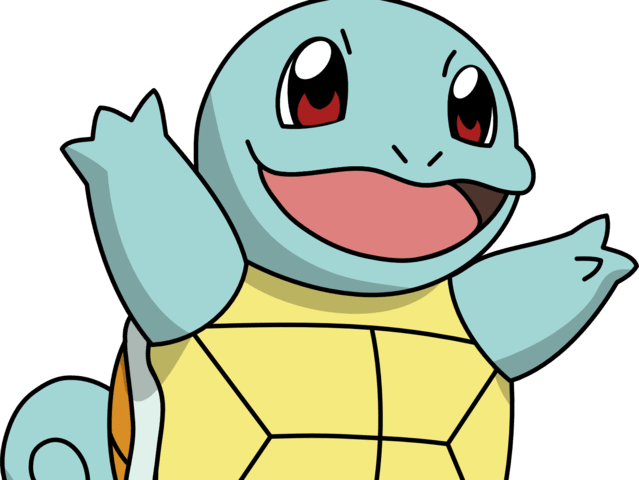 It was Squirtle!