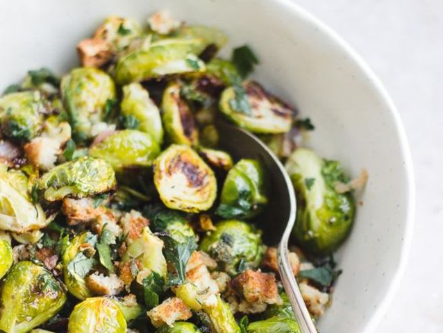 Sage adds a delectable taste to many dishes like Brussels sprouts and stuffing!