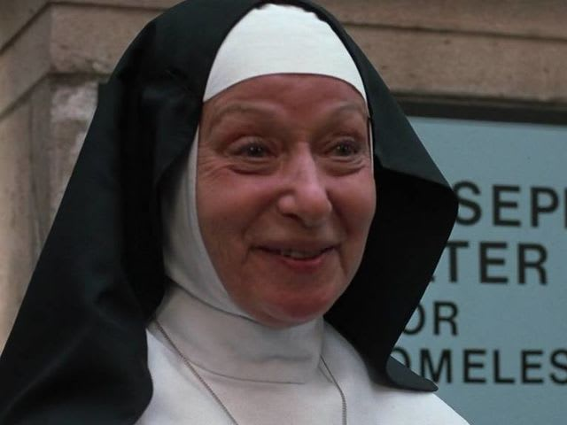Nuns raising money for a homeless shelter