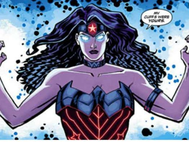 The bracelets actually tone down her powers so she can't just instantly kill every human, or even superhuman, she touches.