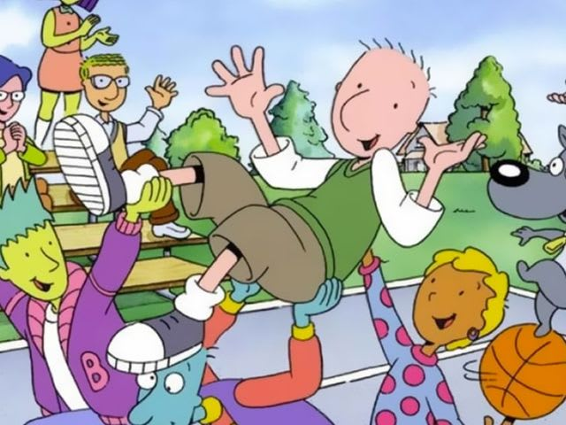 "Which character from the TV show ""Doug"" resonates with you most?"