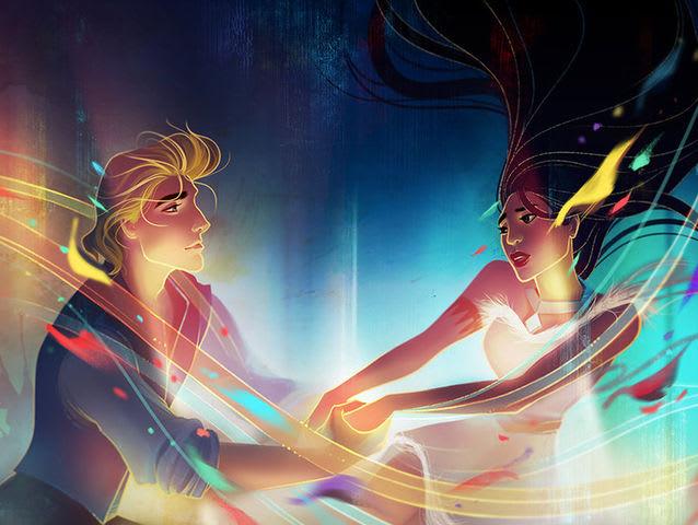 А чем бы ты хотела заняться больше? Потанцевать в таверне с Юджином или с прекрасным принцем на балу?