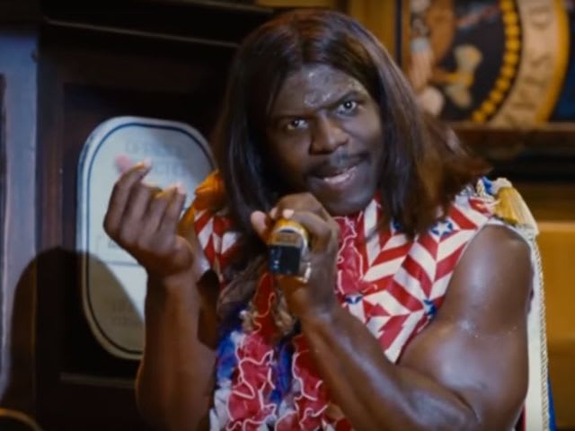 This is President Dwayne Elizondo Mountain Dew _____ Camacho.