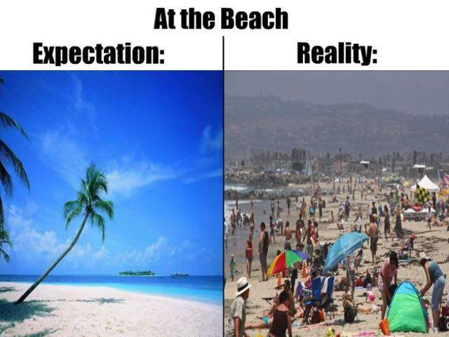 Expectations Vs Reality Fails Playbuzz - 20 photos that sum up your travel expectations vs reality