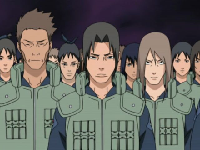 Which Is The Uchiha Police Force Symbol?