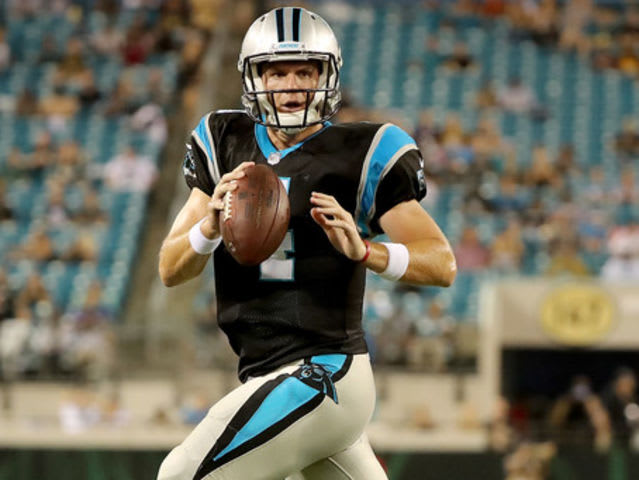 Gilber was the starter before Mayfield at Lake Travis and is now a backup QB for the Carolina Panthers.