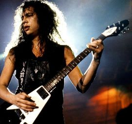 Kirk Hammett was their first guitarist.
