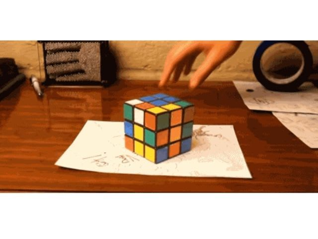 How many edges does this Rubik's Cube have?
