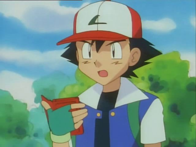 What is the first legendary bird Pokémon Ash sees?