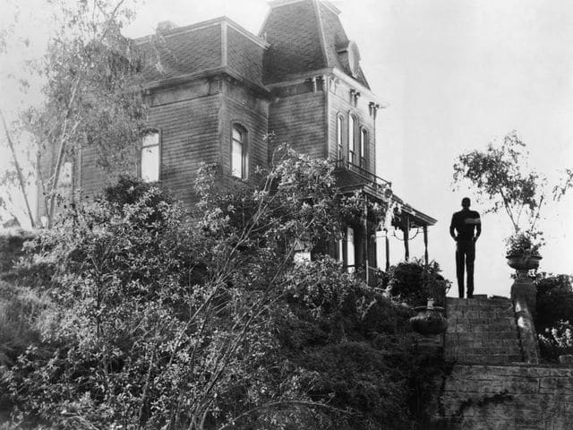 alfred hitchcock filmed the interior sequences of the bates house in psycho on - Halloween Horror Movie Trivia