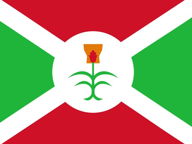 True or False: Burundi is smaller than Brazil.