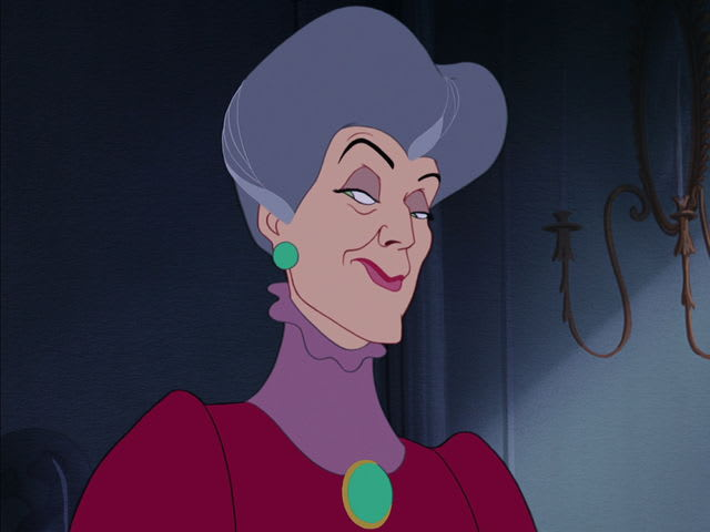 Lady Tremaine, AKA Cinderella's stepmother. What a bitch.