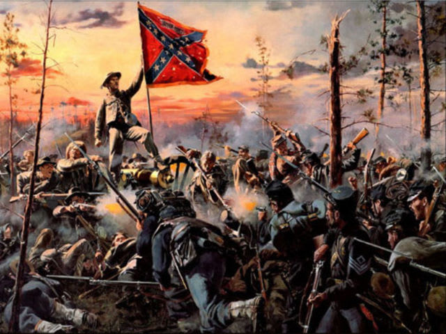 Who was the president of the Confederate states during the U.S. Civil War?