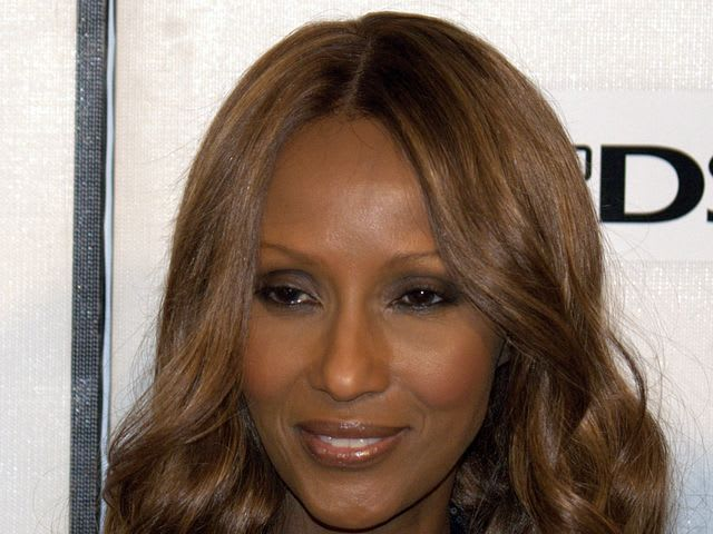 Which country was the model Iman born in?