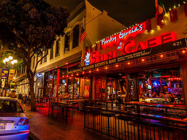 Where is the Gaslamp District located?