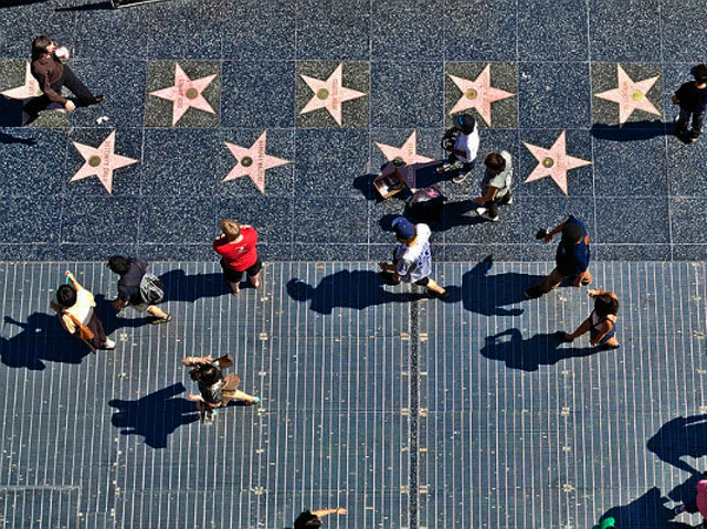 What city is the Walk of Fame located within?