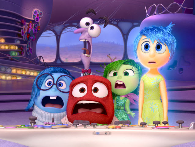 Which Disney Pixar film, pictured here, was released in June?