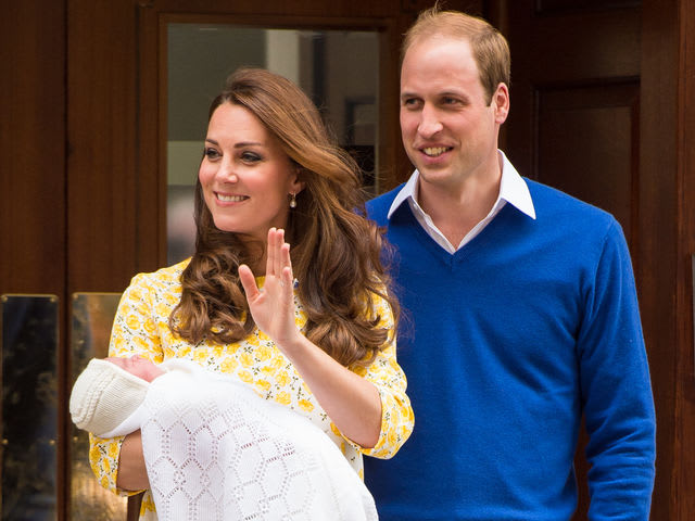 Princess Charlotte was born in May. What are her middle names?