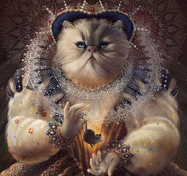Regal Cat: Everyone should fear you. You are beautiful but you have sharp teeth and claws. You'll destroy your enemies.