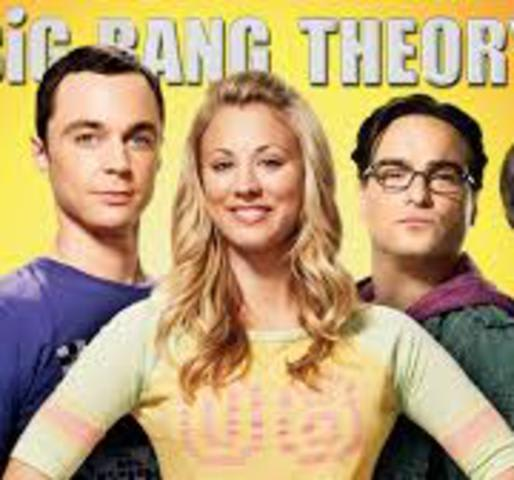 Big Bang Theory Burning Series