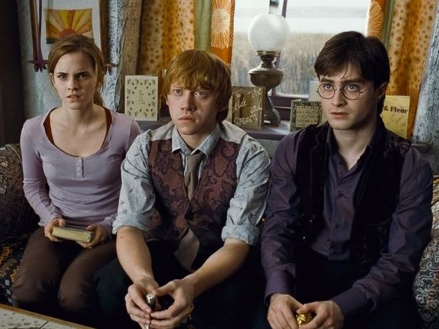 What did Dumbledore leave for Hermione in his will?
