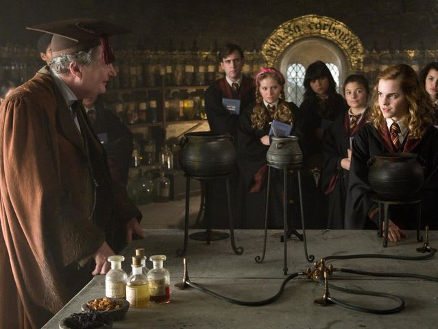What potion did Harry take in order to get Slughorn's memories?