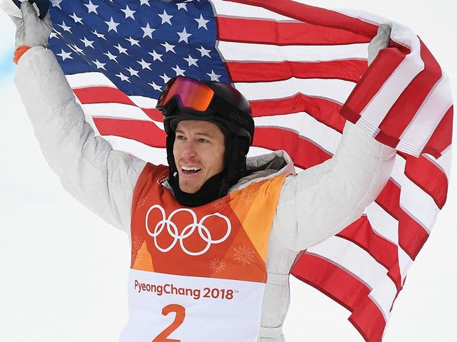 It's Olympic snowboarder Shaun White!