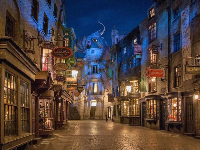 Which Wizarding store would you most like to shop at?