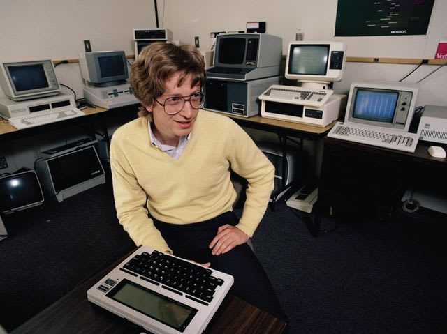 Microsoft was formed by Paul Allen and Bill Gates! The company originally developed and sold BASIC interpreters for Altair 8800.