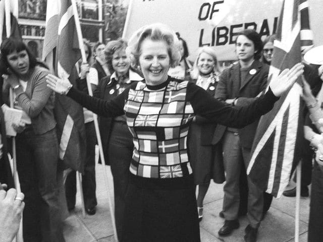 Who became the first female prime minister of the UK in 1979?
