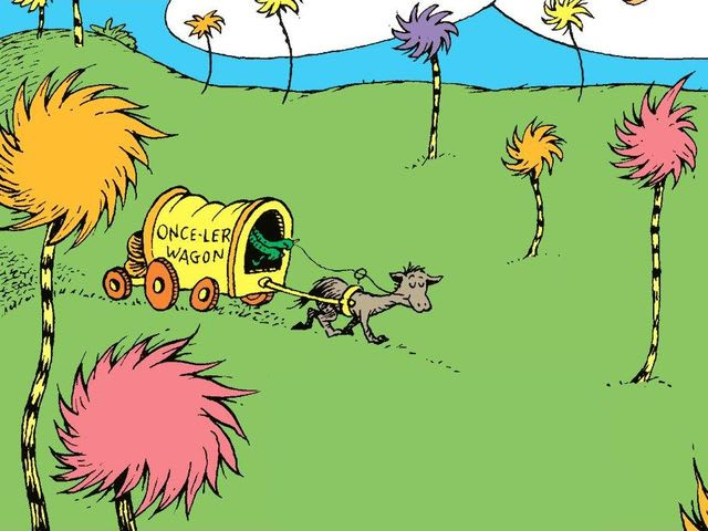 The Lorax is banned in some California schools because its portrayal of logging is said to criminalise the industry.