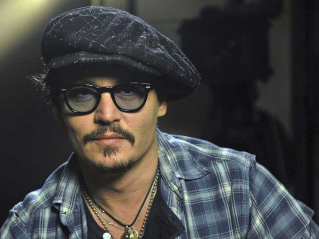 What is Johnny Depp's second language?
