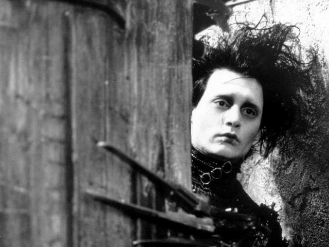 What year did 'Edward Scissorhands' come out?