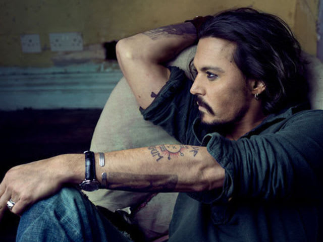 What magazine chose Johnny Depp as one of the '50 Most Beautiful People in the World'?