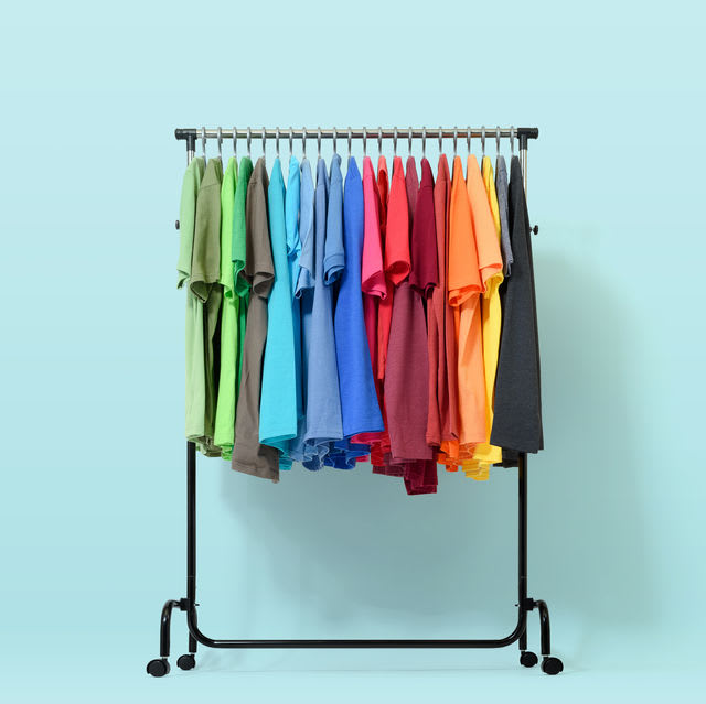 If we opened your closet, what color palette would we mostly see?
