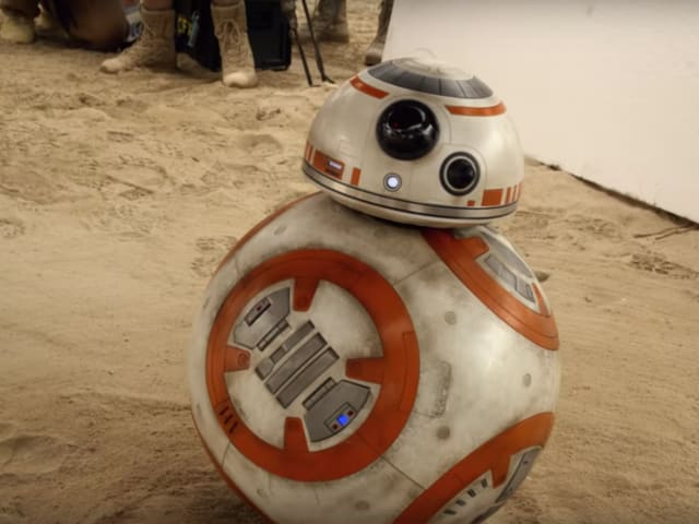 What kind of droid is BB-8?